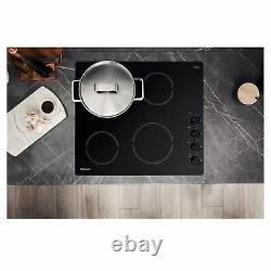 Hotpoint HR619CH 58cm Ceramic Hob with 4 Cooking Zones in Black