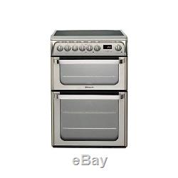 Hotpoint HUE61XS 60cm Electric Cooker with Ceramic Hob Stainless Steel HUE61XS