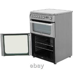 Hotpoint HUI611X Ultima Free Standing A/A Electric Cooker with Induction Hob
