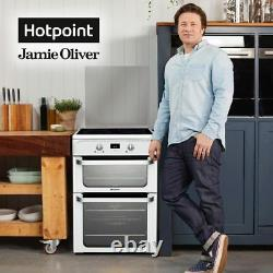 Hotpoint HUI612P Ultima Free Standing A/A Electric Cooker with Induction Hob