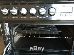 Hotpoint Ultima Free standing fan assisted cooker ceramic hob grill 3 years old