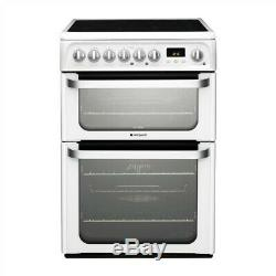 Hotpoint Ultima HUE61PS Electric Cooker with Ceramic Hob (IP-ID607819770)