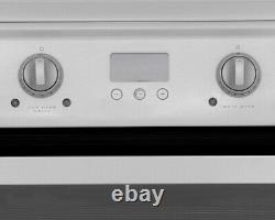 Hotpoint Ultima HUI612P White 60cm Electric Twin Cavity Cooker & Induction Hob