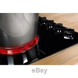 INDESIT RI861X 60cm Four Zone Ceramic Hob Black RI861X