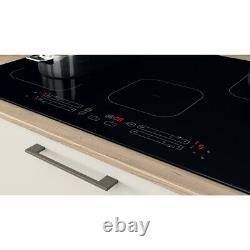 Indesit IB21B77NE 77cm'Dual-Zone' Induction Hob LED, Touch Controls, Timers