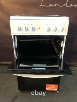 Indesit ID5V92KMW 50cm Twin Cavity Electric Cooker with Ceramic Hob