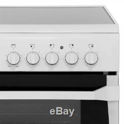 Indesit ID60C2XS Advance Free Standing Electric Cooker with Ceramic Hob 60cm