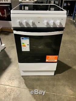 Indesit IS5V4KHW 50cm Single Oven Electric Cooker With Ceramic Hob