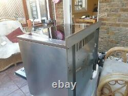 Indesit KP9508CXG 90cm Freestanding Electric Range Cooker with Ceramic Hob