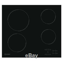 Indesit RI161C 58cm Touch Control Ceramic Hob Black