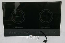 Insignia 24 Electric Induction Cooktop NS-IC2ZBK7 Black