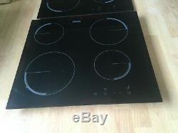 IoZANUSSI ZEV6240FBA Induction Electric Ceramic Hob Black, + extra glass top