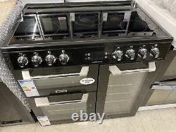 LEISURE CS90C530K Cuisinemaster Black 90cm Electric Range Cooker Ceramic Hob