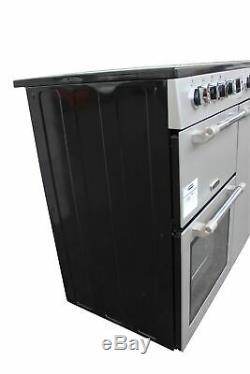 Leisure 90cm Electric Range Cooker Ceramic Hob CK90C230S Silver 2 Ovens #1715