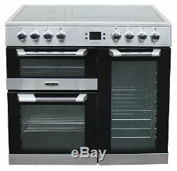 Leisure 90cm Electric Range Cooker Ceramic Hob CS90C530X 90cm 3 Ovens #1781