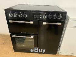 Leisure (CK90C230K) Electric Range Cooker 90cm Ceramic Hob & 3 Ovens