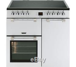 Leisure CK90C230S Ceramic Hob 90cm Electric Range Cooker-Silver (CK1405)