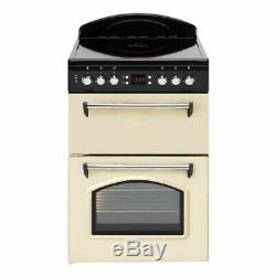 Leisure CLA60CEC 60cm Electric Double Oven with Ceramic Hob Cream/Black -COLLECT