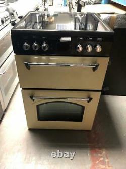 Leisure CLA60CEC 60cm Electric Double Oven with Ceramic Hob in Cream