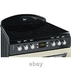 Leisure CLA60CEC Classic 60cm Double Oven Electric Cooker with Ceramic Hob Cre