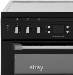 Leisure CS60CRK BLACK Electric Cooker Double Oven 60cm Ceramic Hob RRP £549