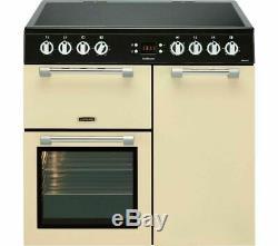 Leisure Cookmaster CK90C230C 90cm Electric Range Cooker Cream Ceramic Hob