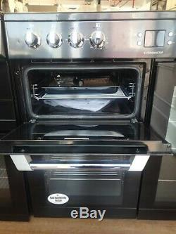 Leisure Cuisinemaster 90cm Electric Range Cooker with Ceramic Hob Black
