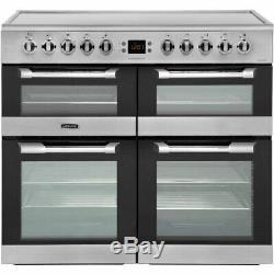 Leisure Cuisinemaster CS100C510X 100cm Electric Range Cooker with Ceramic Hob