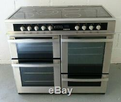 Leisure EB10CRX 100cm Electric Range Cooker with Ceramic Hob NEARLY NEW