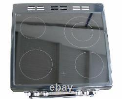 Leisure Electric Cooker Mini Range Ceramic Hob CLA60CEK Double Oven Black #2027