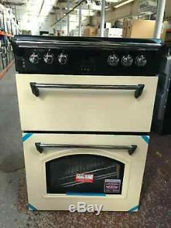Leisure GRB6CVC 60cm Electric Cooker with Ceramic Hob Cream A/A Rated #222577