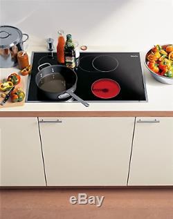 Miele KM463 75cm Electric Ceramic Hob Cooker Black Induction