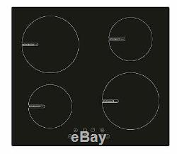 Montpellier 60cm Built-in Electric Ceramic Induction Hob, Touch Control Black
