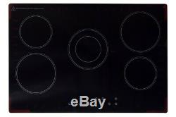 Montpellier CT750 5 Zone Ceramic Glass Hob with 2 Year Warranty