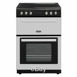 Montpellier RMC61CX Free Standing Electric Cooker with Ceramic Hob 60cm