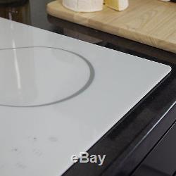MyAppliances REF29120 60cm White Touch Control 4 Zone Ceramic Hob