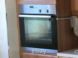 NEFF Built In Single Electric Fan Oven NOW INCLUDING AEG 4 RING CERAMIC HOB