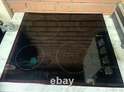 NEFF T16FK40X0 Electric Ceramic Hob Black New Light Use W Fine Scratch RRP 319