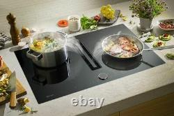 NEFF T58TL6EN2 N90 83cm Induction Hob with Downdraft Extractor Touch Control
