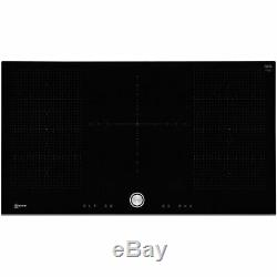 NEFF T59FT50X0 N70 92cm 5 Burners Induction Hob Touch Control Black