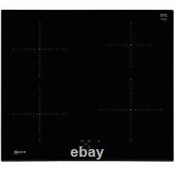 NEW NEFF T36FB41X0G 59cm 4 Burners Induction Hob Touch Control Black