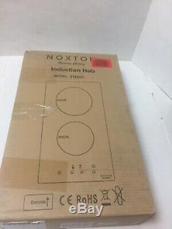NOXTON Induction Cooktop Built-in 2 Burners Electric Stove Hob ITS352G1