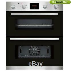Neff Oven & Cookology Hob Pack, Built-under Double Oven & 60cm Ceramic Hob