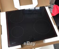 Neff T10B40X2 3000W Black Electric Ceramic Hob BRAND NEW UNUSED RRP £479