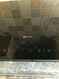 Neff T11D41X2GB Ceramic Hob Black -frameless surface mounted
