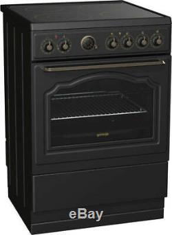 New Gorenje Classico Collection EC67CLB 60cm Electric Cooker Ceramic Hob-COLLECT