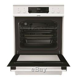 New Gorenje EC6451WPB 60cm Electric Freestanding Cooker Ceramic Hob White