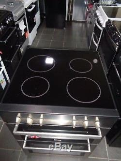 New Stoves SEC60DO Free Standing Electric Cooker with Ceramic Hob 60cm Stainless