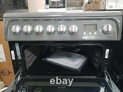 New Unboxed Hotpoint HUE61GS Ultima A/A Electric Cooker with Ceramic Hob 60cm