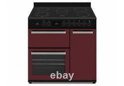 New World NW90C3BU 90cm Triple Cavity Electric Range Cooker With Ceramic Hob